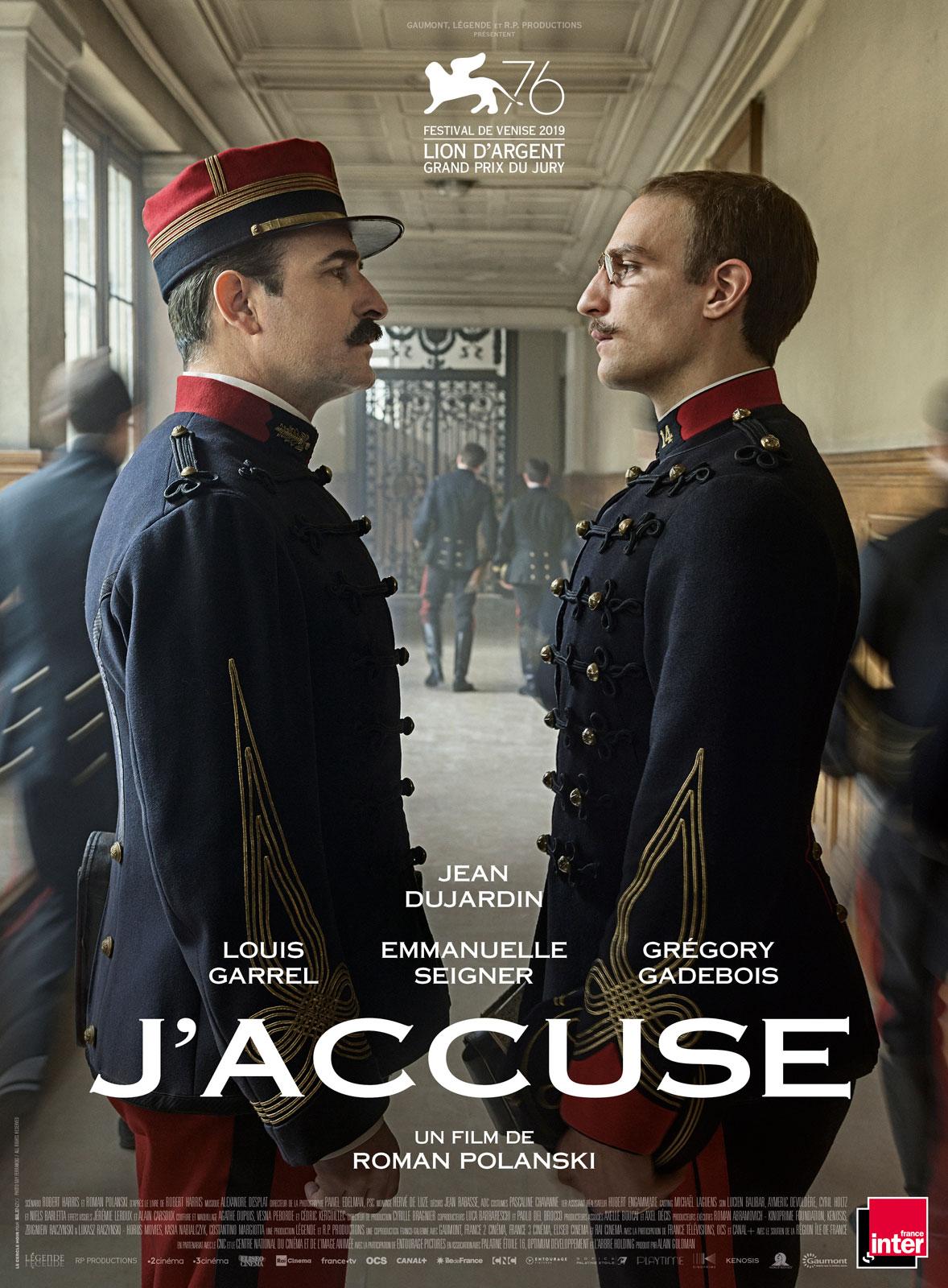 J'accuse movie poster