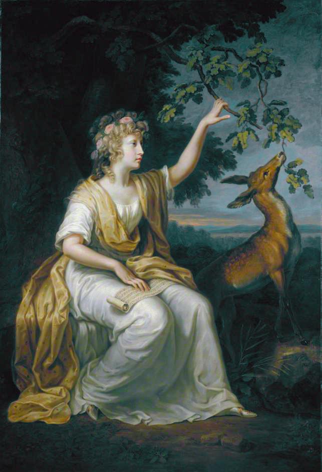 中坎贝尔夫人的画像。(维基百科)