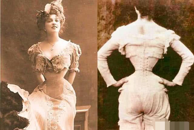 16世纪流行到19世纪末的束腰文化。(网络图片)