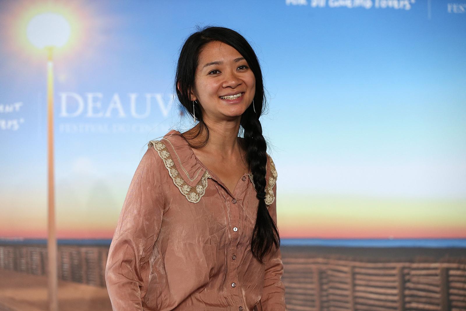 华裔导演赵婷。(图: AFP)