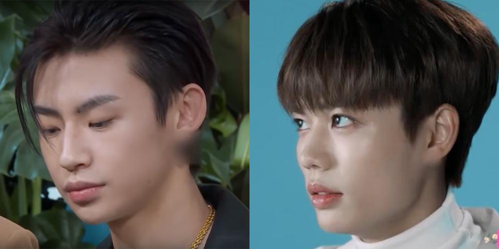 中国媒体对男明星佩戴的耳环进行马赛克处理。(网络截图)