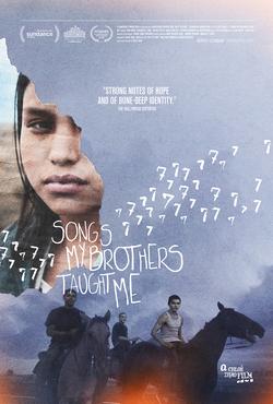 赵婷处女作《哥哥教我唱的歌》海报。(图:维基百科)