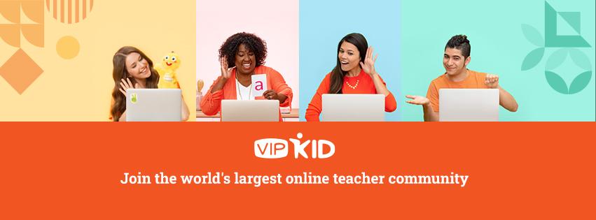 中国在线教育机构VIPKid(来源:VIPKid / Facebook)