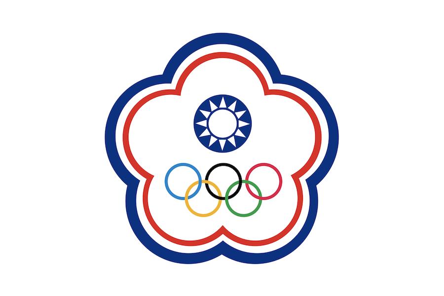 """台湾""""奥会旗"""""""